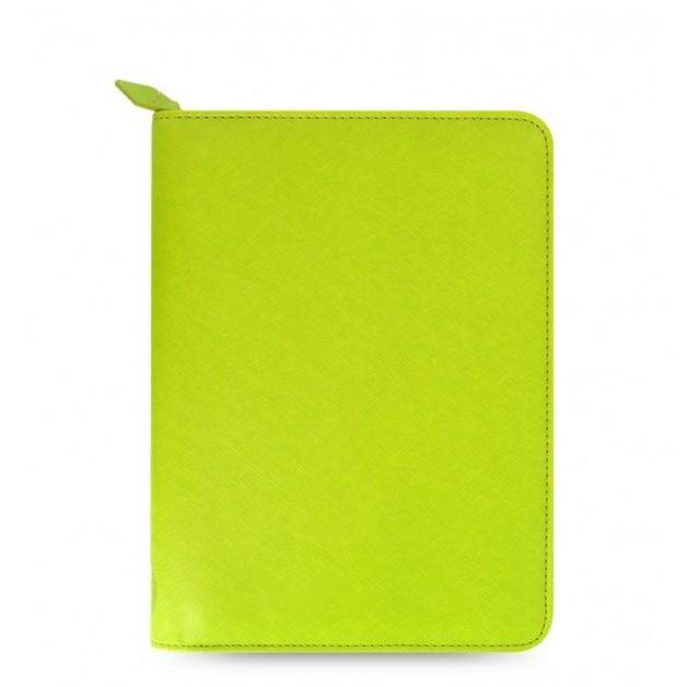 Filofax Saffiano Zip Small Tablet Cover - Pear