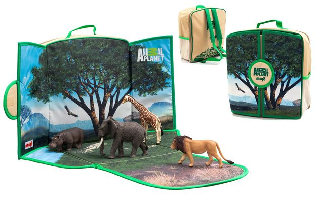 Animal Planet Wildlife Play-Scape Backpack