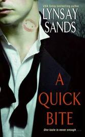 A Quick Bite (Argeneau Vampires #1) by Lynsay Sands