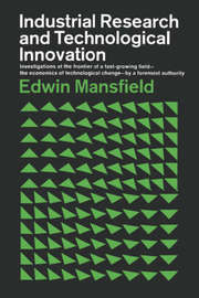 Industrial Research and Technological Innovation by Edwin Mansfield