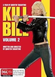 Kill Bill Volume 2 on DVD
