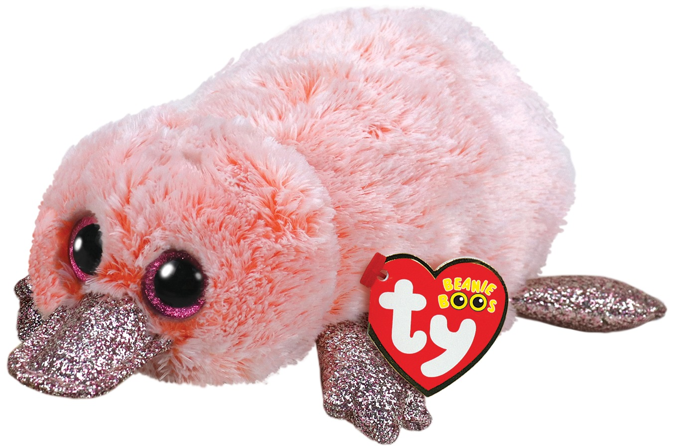 25b74cfcf02 Ty Beanie Boo  Pink Platypus - Small Plush image