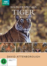 Wildlife Specials - Tiger on DVD image
