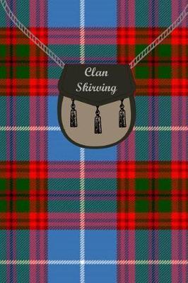 Clan Skirving Tartan Journal/Notebook by Clan Skirving