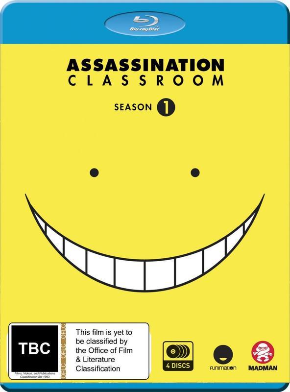 Assassination Classroom - Complete Season 1 on Blu-ray