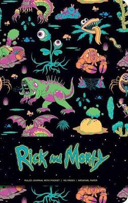 Rick and Morty Deluxe Hardcover Ruled Journal by Insight Editions