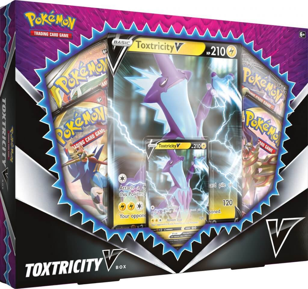 Pokemon TCG: Toxtricity V Box image