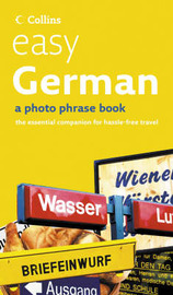 Easy German CD Pack: Photo Phrase Book and Audio CD image