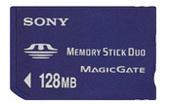 Sony MSHM128X Memory Stick Duo 128MB