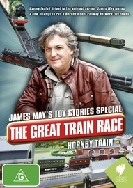 James May's Toy Stories Special - The Great Train Race - Hornby Train on DVD