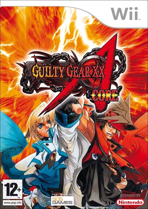 Guilty Gear XX Accent Core for Nintendo Wii