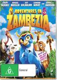 Adventures in Zambezia DVD