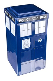 Doctor Who TARDIS Tin Storage Box