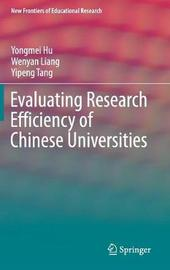 Evaluating Research Efficiency of Chinese Universities by Yongmei Hu image