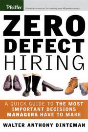 Zero Defect Hiring by Walter Dinteman image