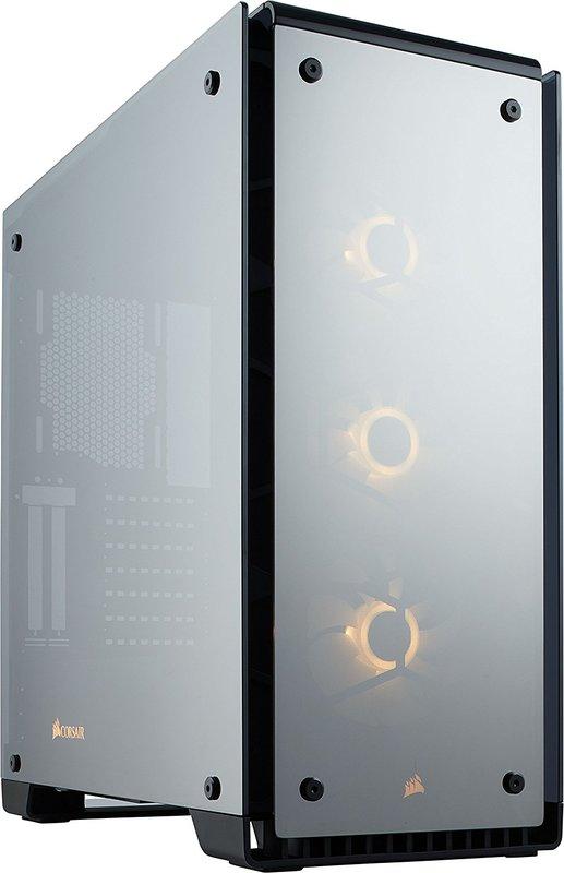 Corsair Crystal Series 570X RGB Mirror Black Tempered Glass ATX Mid-Tower Case
