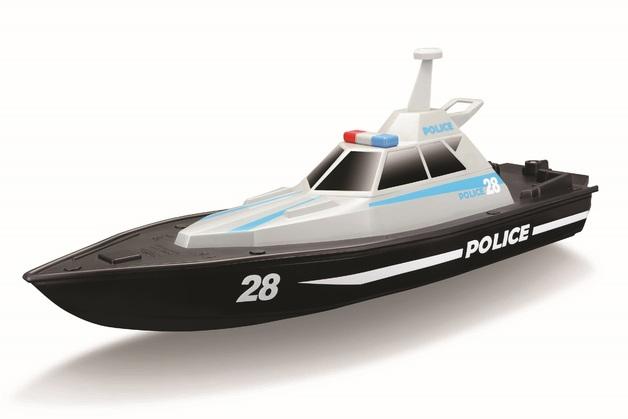Maisto: Police Boat - 2.4ghz RC Boat