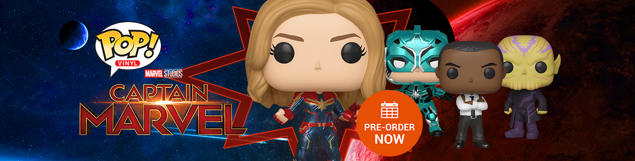 Pre-Order Captain Marvel Pop! Vinyl