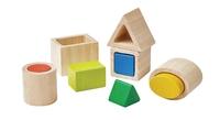 PlanToys: Geo Matching Blocks - 10-Piece Set