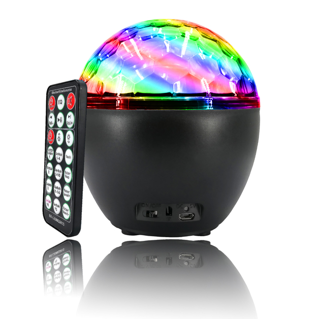 16 LED Party Projector Light with Bluetooth Speaker