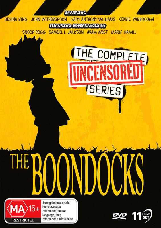 The Boondocks - Complete Series on DVD