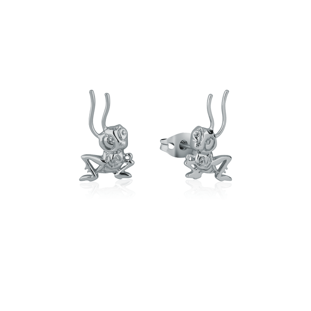 Couture Kingdom: Disney Mulan Cri-Kee Stud Earrings White Gold