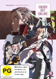 Sword Art Online Vol. 2: Aincrad Part 2 on DVD