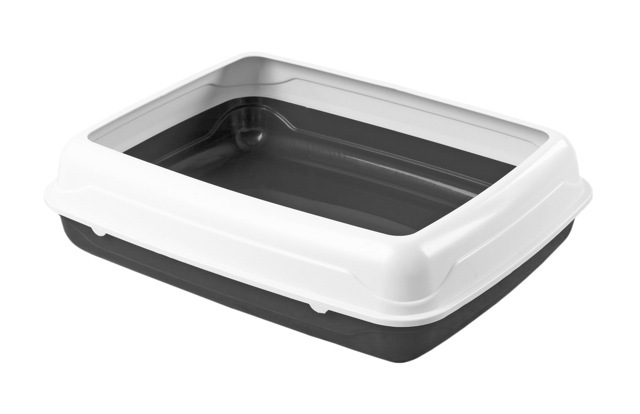 Kitty Litter Tray with Rim (Small) image