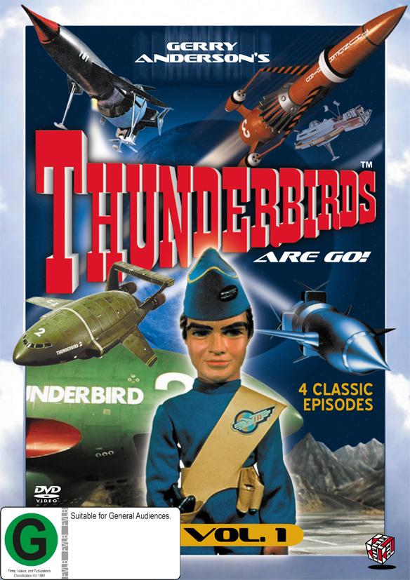 Thunderbirds Vol 1 on DVD image