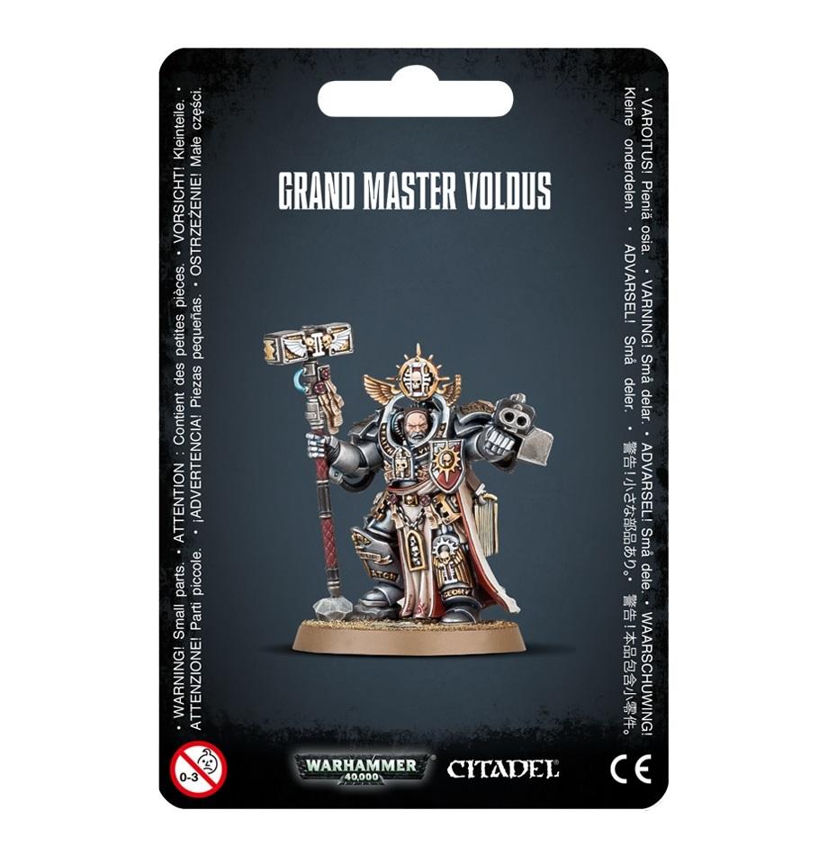 Warhammer 40,000 : Grey Knights Grand Master Voldus image