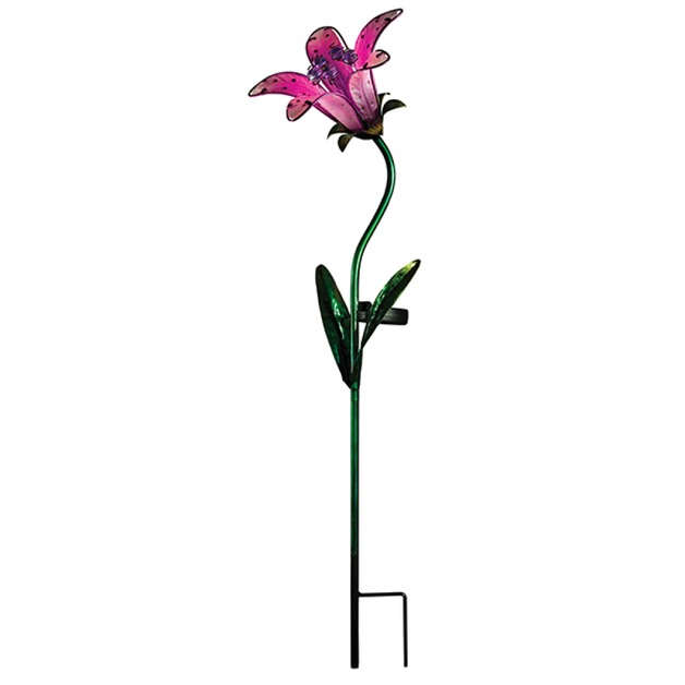Regal: Solar Tiger Lily Stake - Pink