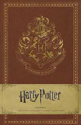 Harry Potter Hogwarts Hardcover Ruled Journal by Insight Editions