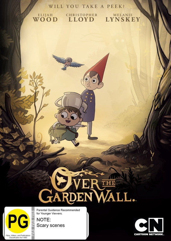 Over The Garden Wall on DVD