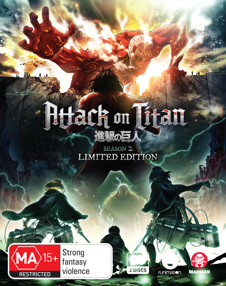 Attack On Titan - Complete Season 2 (Limited Collector's Edition) on Blu-ray image
