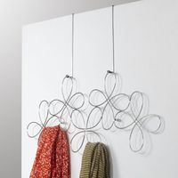 Umbra: Fleur Over-the-door Scarf Holder - (Chrome)