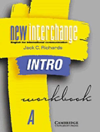 New Interchange Intro Workbook A: English for International Communication by Jack C Richards image