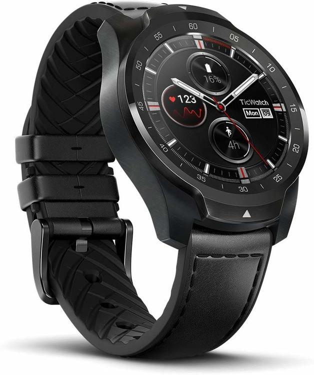 Mobvoi: TicWatch Pro - NFC Smart Watch (Elegant Black)