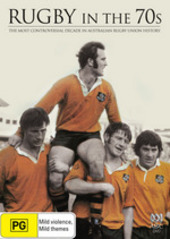 Rugby In The 70s on DVD