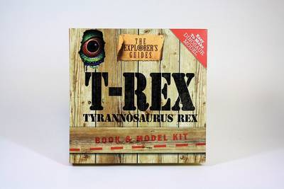 T-Rex: Book & Model Kit by Artworks J M image