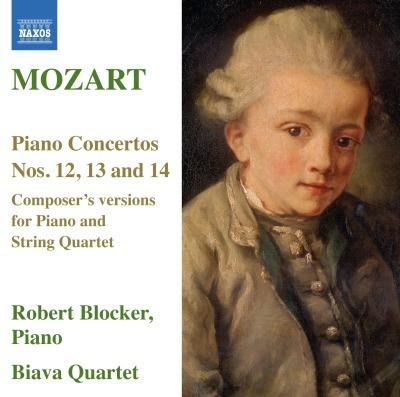 Mozart: Piano Concertos Nos. 12, 13 & 14 by Biava Quartet