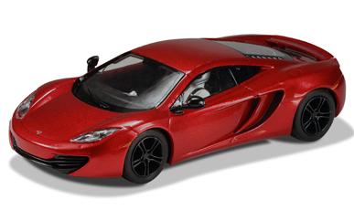 Scalextric DPR McLaren MP4-12C Metallic Red 1/32 Slot Car image