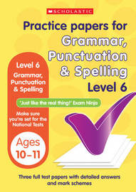 Grammar,Punctuation and Spelling Test Level 6 by Lesley Fletcher