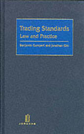 Trading Standards: Law and Practice by Benjamin Gumpert image