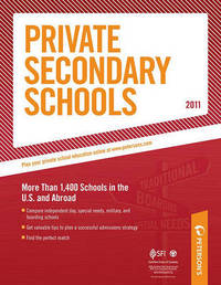 Private Secondary Schools 2010-2011 by Peterson's image