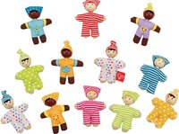 Hape: Happy Babies - Set of 12