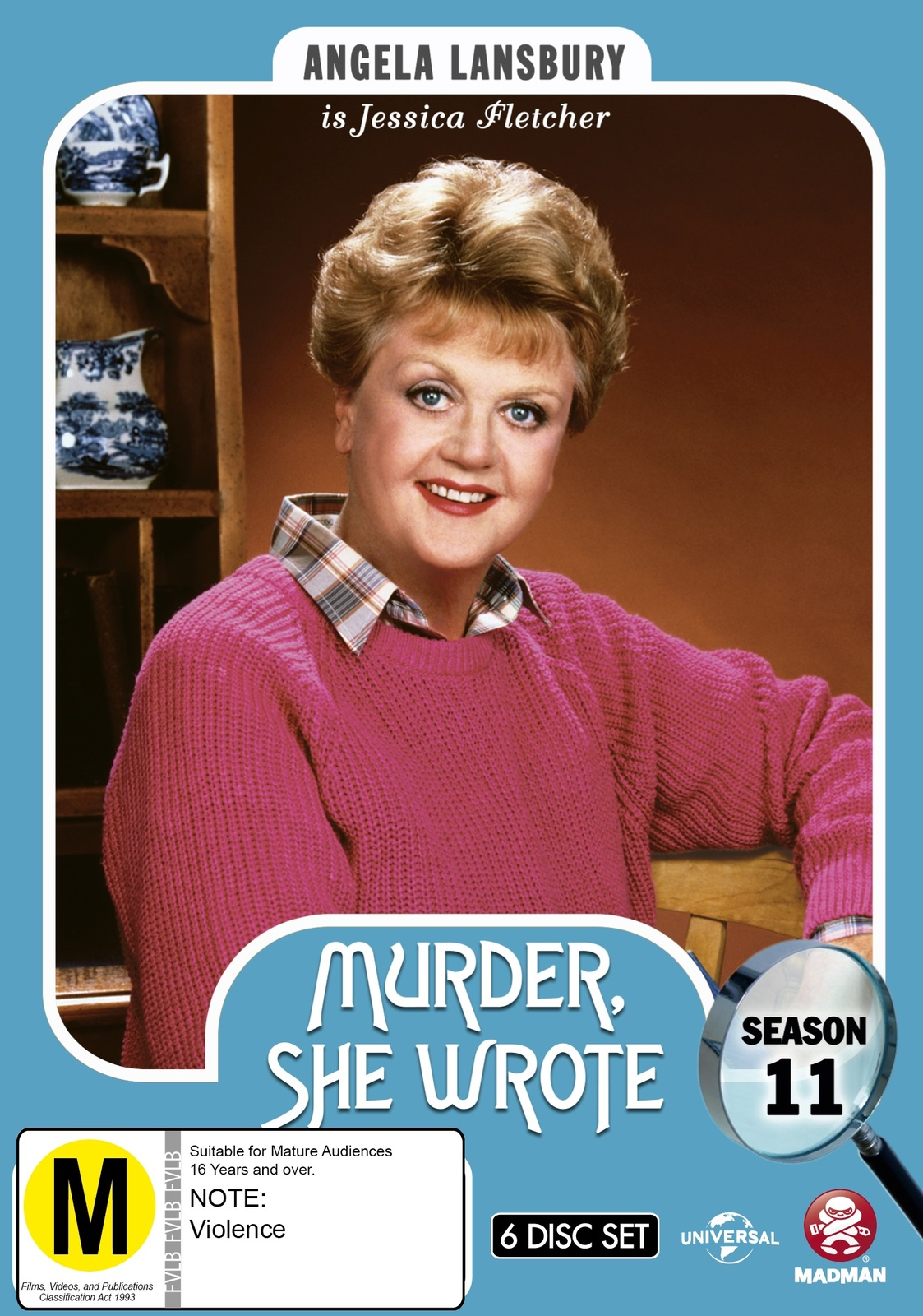 Murder, She Wrote: Season 11 on DVD image