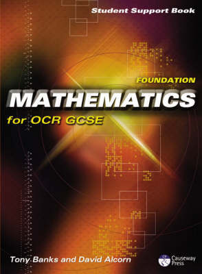 Causeway Press Foundation Mathematics for OCR GCSE - Student Support Book by David Alcorn image