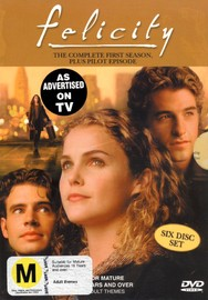 Felicity: The Complete First Season on DVD image