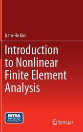 Introduction to Nonlinear Finite Element Analysis by Nam-Ho Kim image