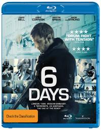 6 Days on Blu-ray